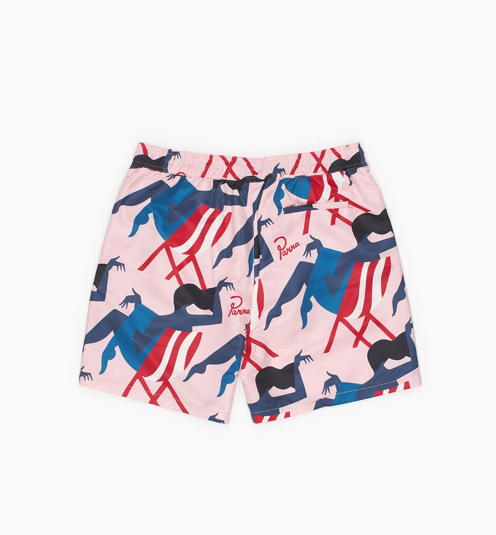 Parra - madame beach swim shorts