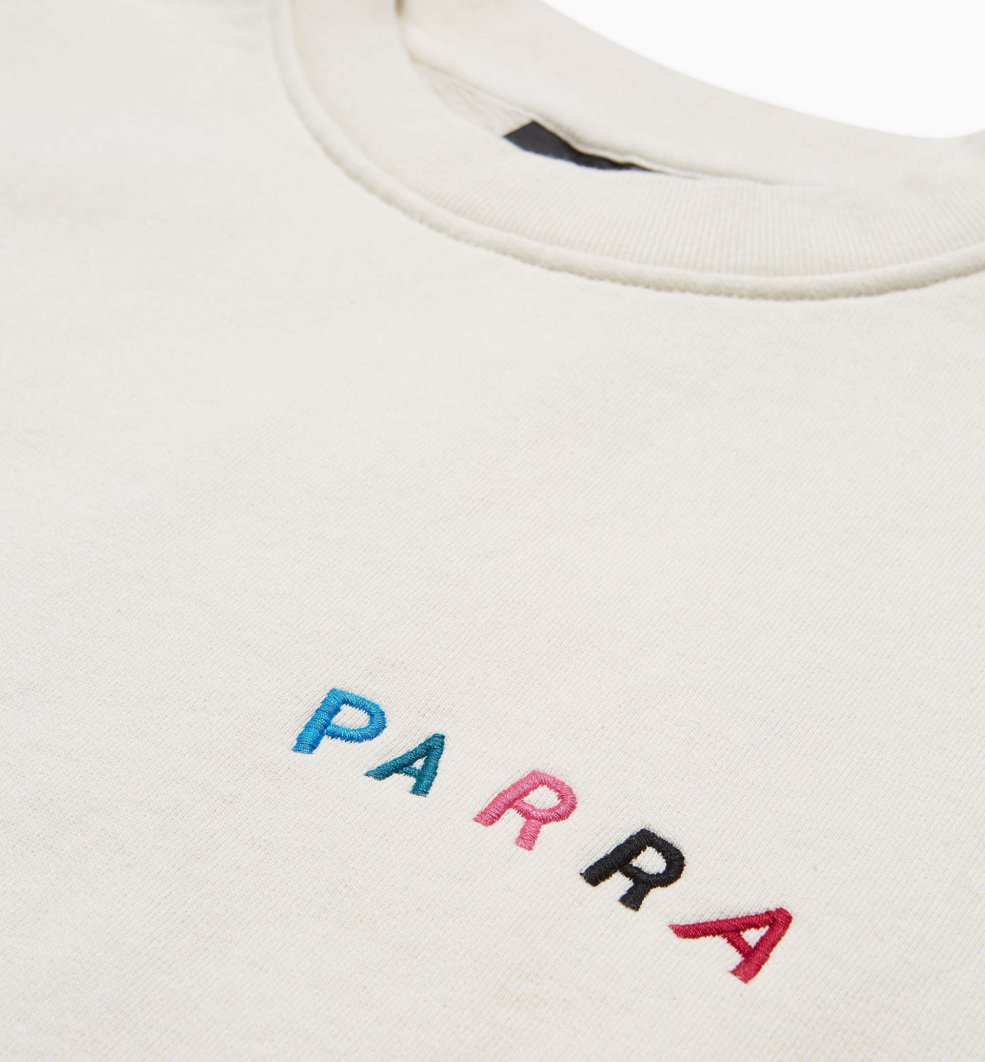 Parra - fonts are us crew neck sweatshirt
