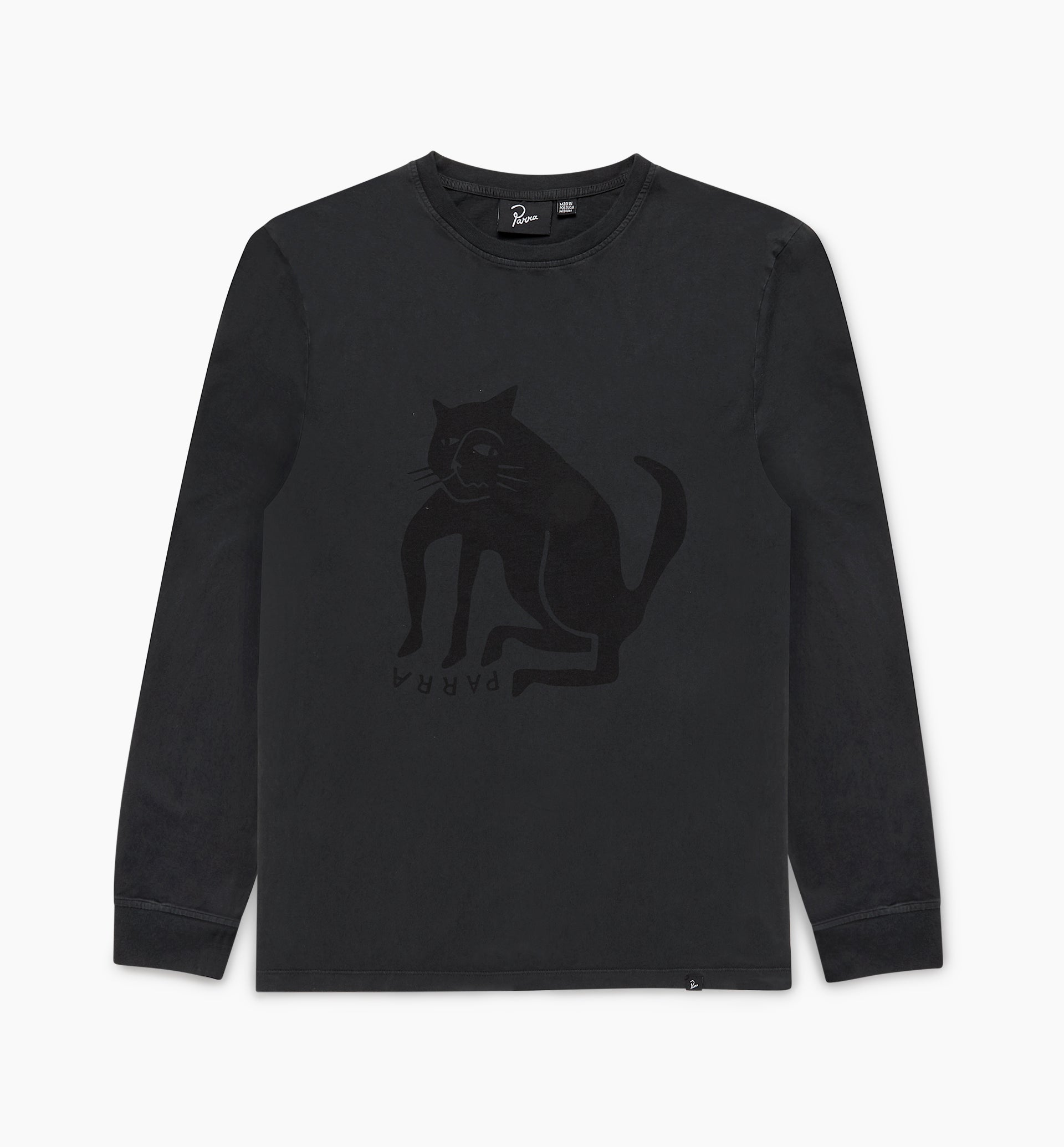 Parra - cat long sleeve t-shirt