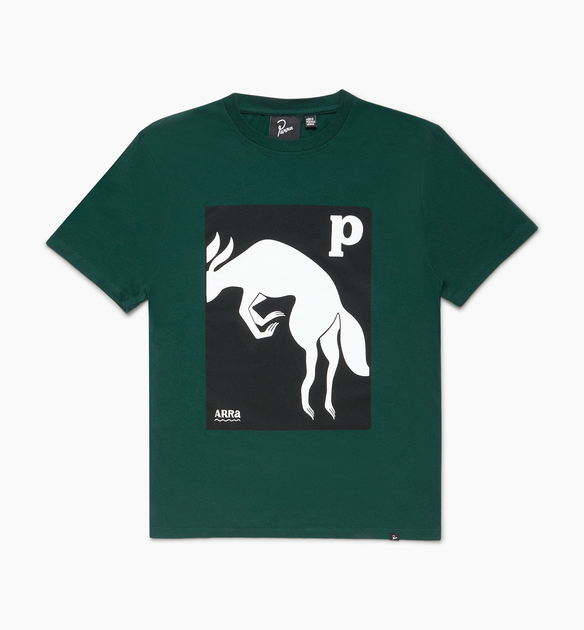 Parra - the brown fox t-shirt