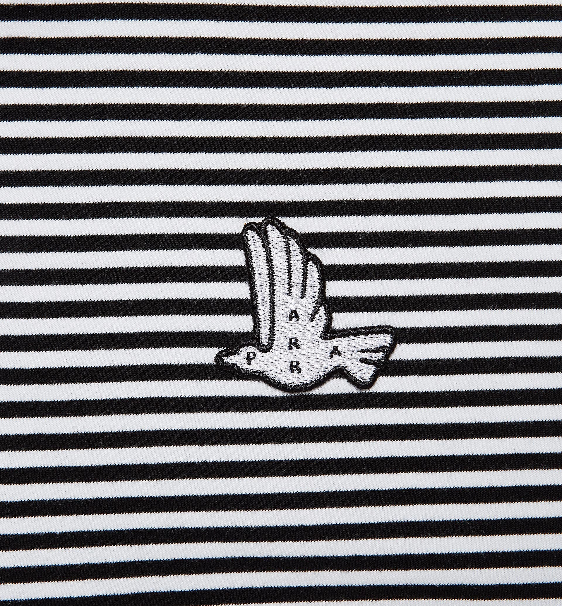 Parra - static flight striped t-shirt