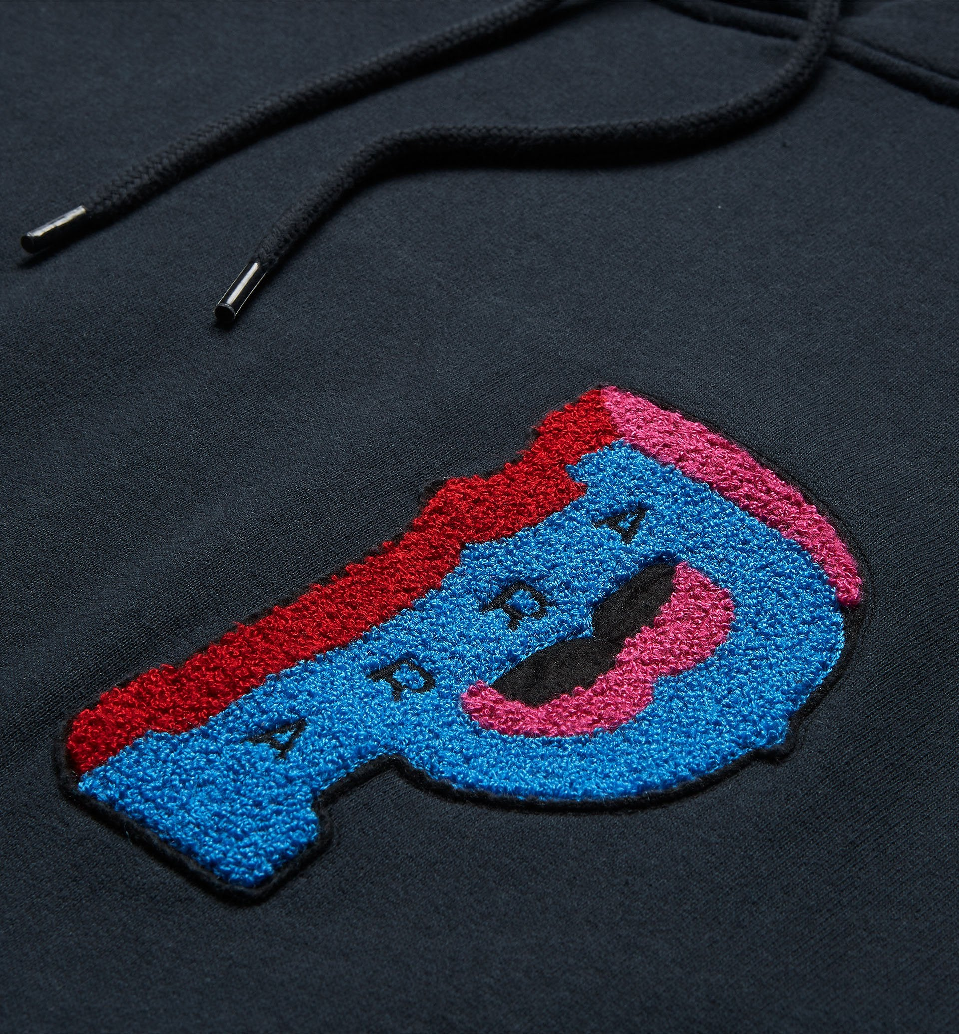 Parra - dropped out hooded sweatshirt