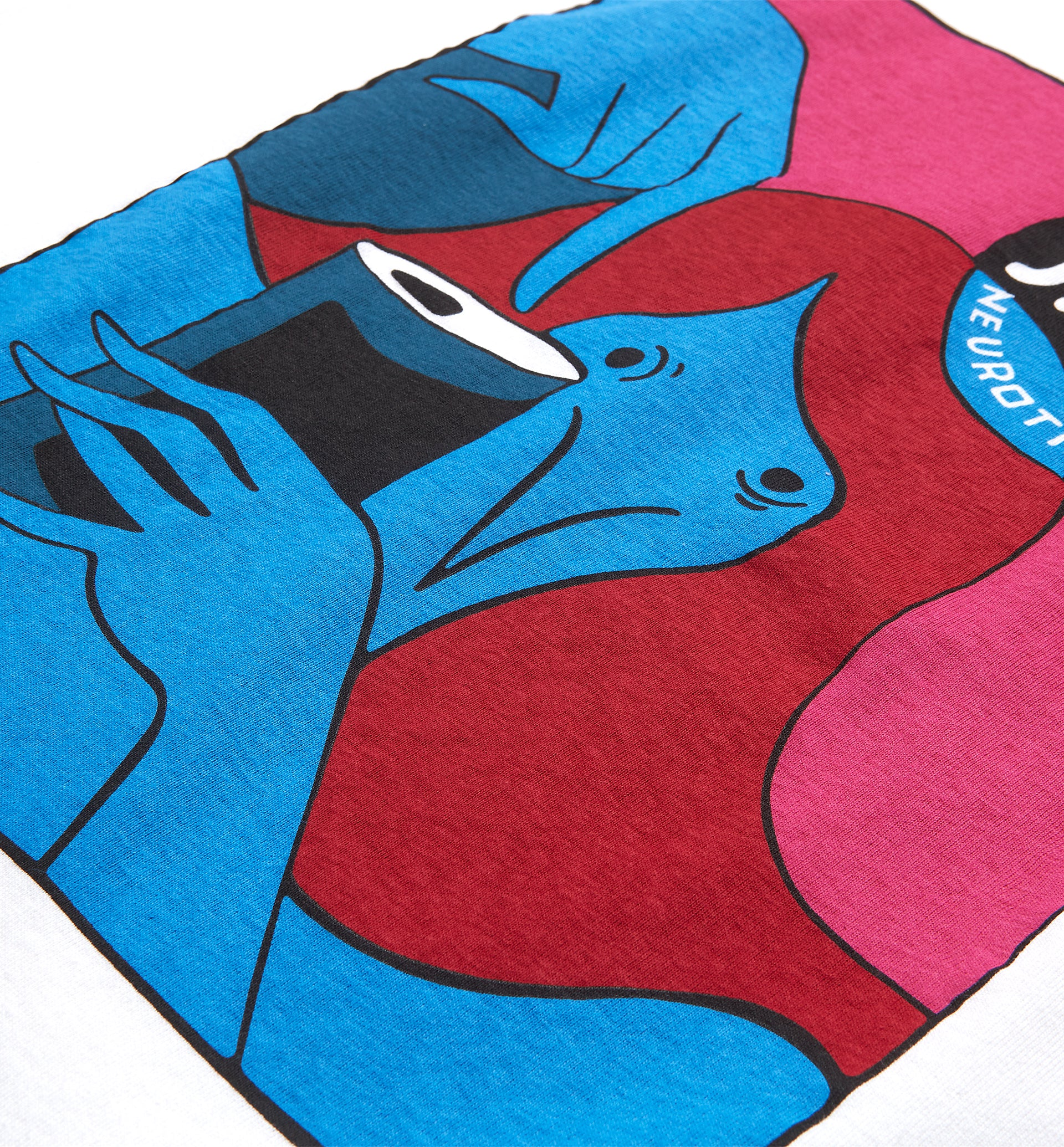 Parra - neurotic comic t-shirt