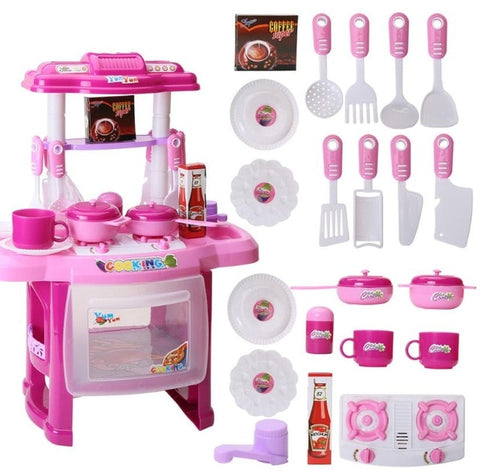 Baby Miniature Kitchen Food Children Toy