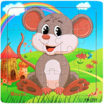Wooden puzzle toy Educational puzzels