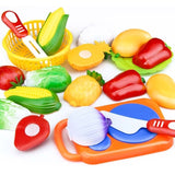 Kitchen Toy Fruit Vegetable Food Cutting