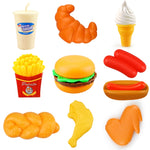 Miniature Food Kitchen Toy Set