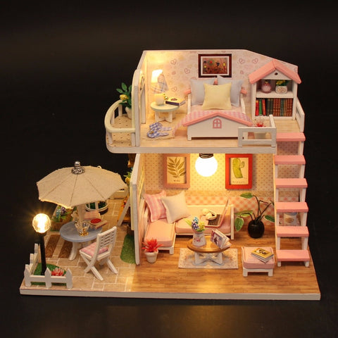 Miniature Diy Puzzle Toy Doll House