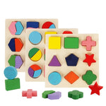 Wooden Geometric Shapes Sorting