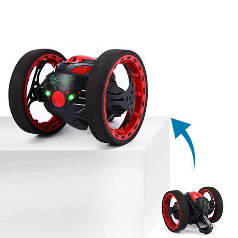 Mini Cars Bounce Car Flexible Wheels Rotation