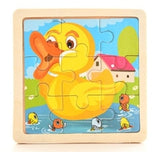 Kids Toy Wood Puzzle