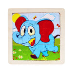 Wooden 3D Puzzle Jigsaw for Children