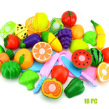 Food Toy Cutting Fruit Vegetable Food For Children