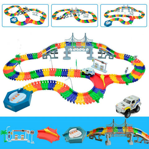 Track Educational Rail Car Toy  Kids
