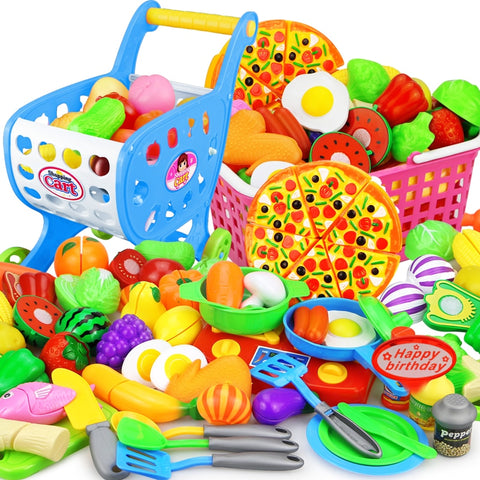 Children Kitchen Pretend Play Toys