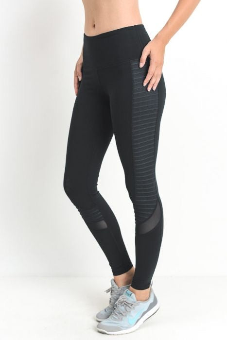 """Starlight"" moto leggings"