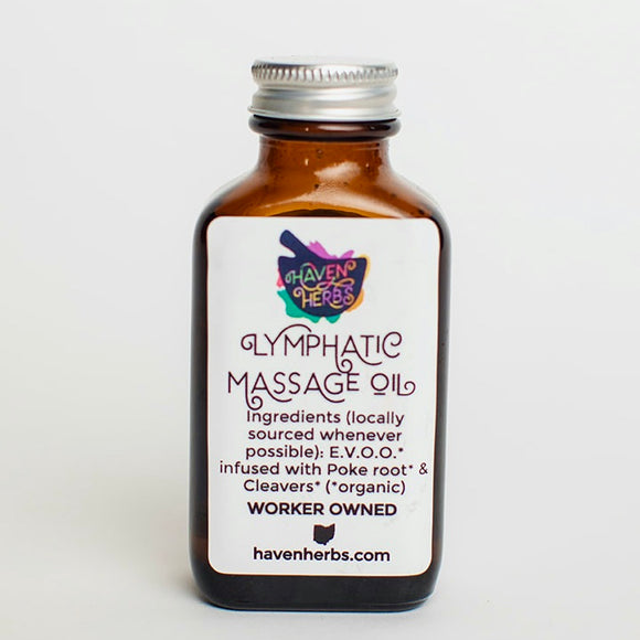 Lymphatic Massage Oil