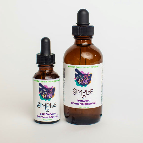 Simples (Single Plant Tinctures) V-Z