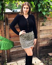 Load image into Gallery viewer, CHEETAH GIRL MINI SKIRT