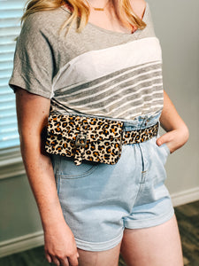 GRAB MY WAIST BAG - LEOPARD