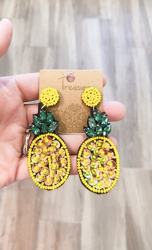 LA PIÑA EARRINGS