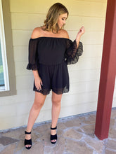 Load image into Gallery viewer, LITTLE BLACK ROMPER