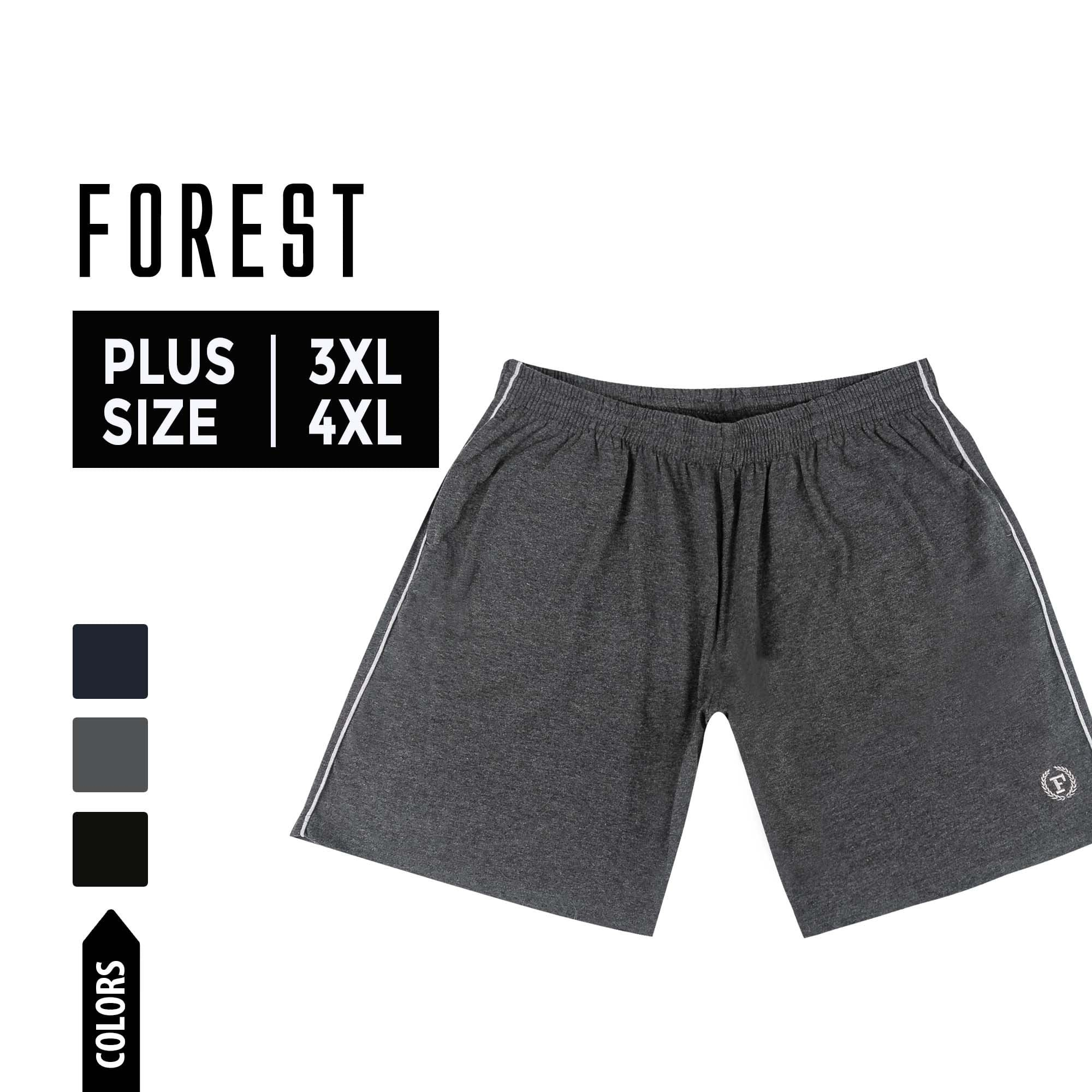 Plus Size Casual Short Pants - 65631