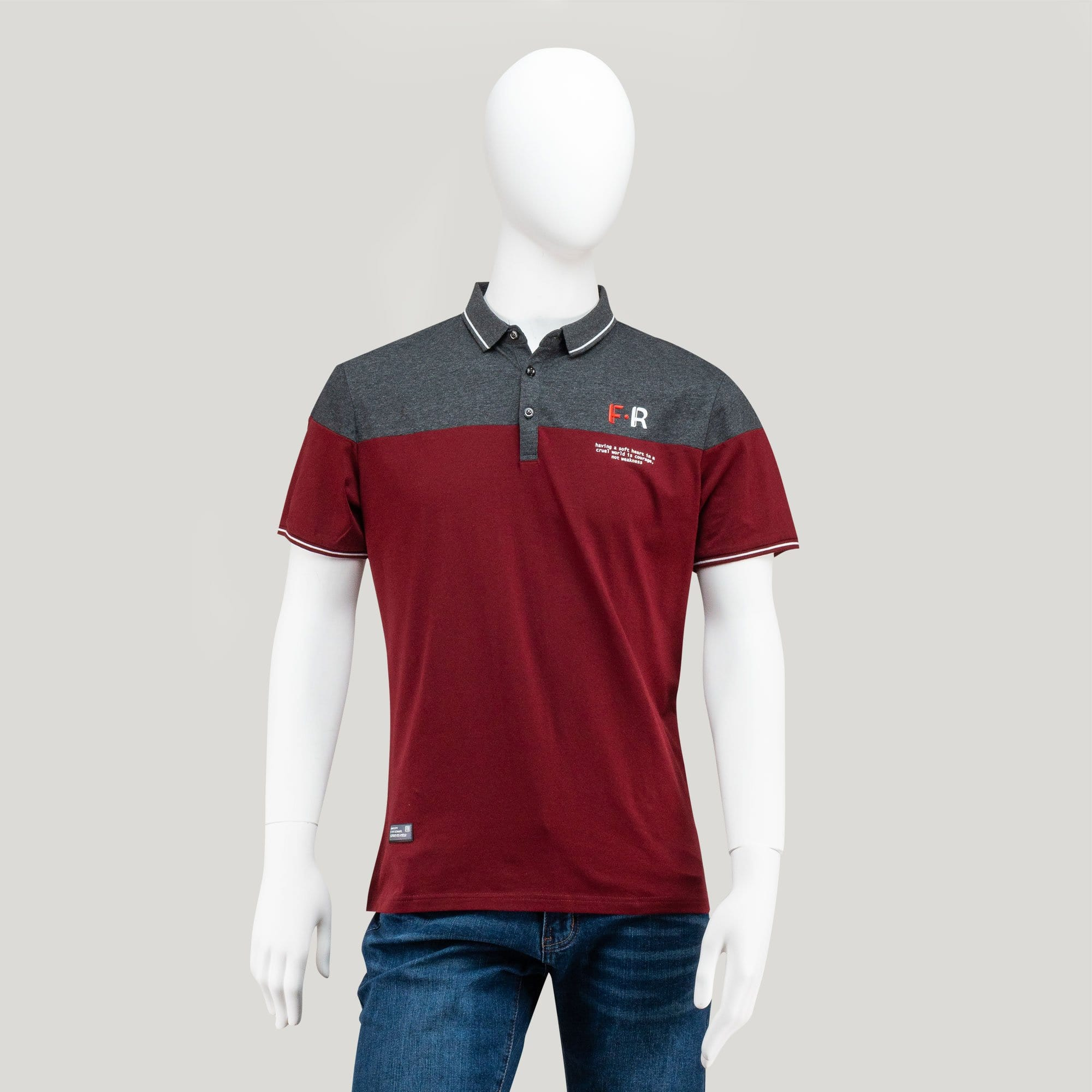 Stretchable Casual Polo Tee - 23530