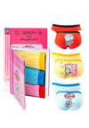Doraemon Cotton Spandex Mini Briefs ( 3 Pieces ) Assorted Colours - DLD0005M