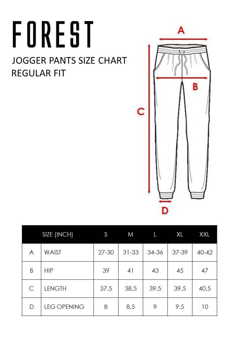 Stretchable Jogger Pants - 10595