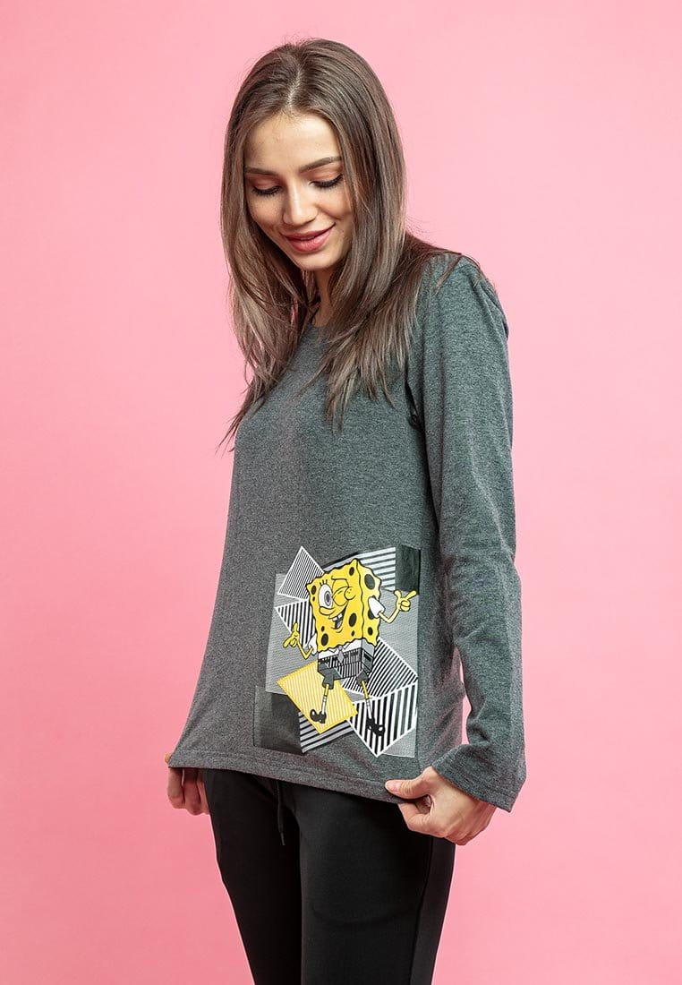 Spongebob Long Sleeve Tee - FS820018