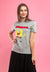 Spongebob Fleece Embroidered Font Round Neck Tee - FS820019