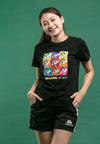 Shinchan Printed Pop Art  Round Neck Tee - FC820022
