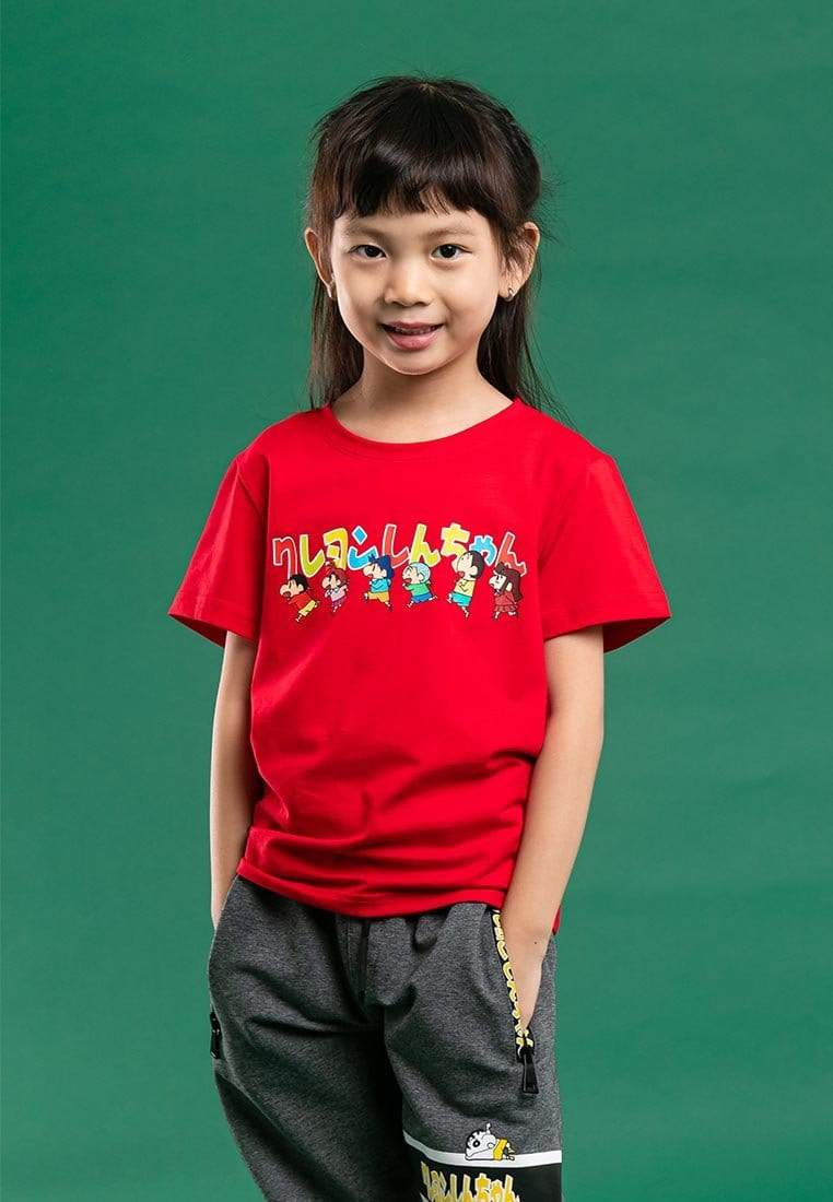 Shinchan Kids Premium Digital Printed Round Neck Tee - FCK2003
