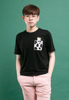 Shinchan Pocket Sleepy Shinchan Printed Round Neck Tee - FC20014