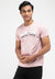 Cool Dry Slim Fit Graphic Round Neck Tee - 23479