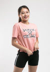 Ladies Printed Short Cut Tee - 821965