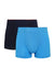 ( 2 Pieces ) Micro Modal Spandex Shorty Brief Assorted Colours - BUD5148S