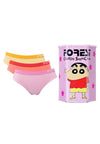 Shichan Ladies Cotton Spandex Mini Panties ( 3 Pieces ) Assorted Colours - CLD0003M
