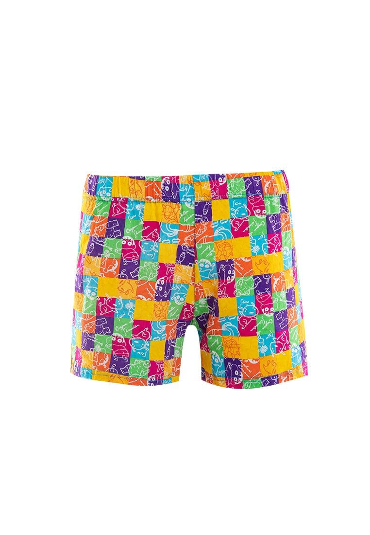 Shinchan 100% Cotton Ladies Boxer Shorts ( 1 Pieces ) Assorted Colours - CLD0007X