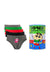 Shinchan Kids 100% Cotton Boy Mini Briefs ( 5 Pieces ) Assorted Colours - CUJ0003M