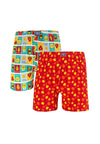 Underwear Cotton Boxers (2 pieces) Assorted Colour - FUD0067X