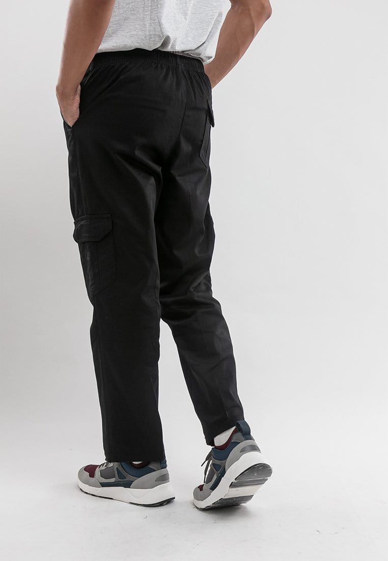 Cotton Twill Cargo Long Pants - 10647