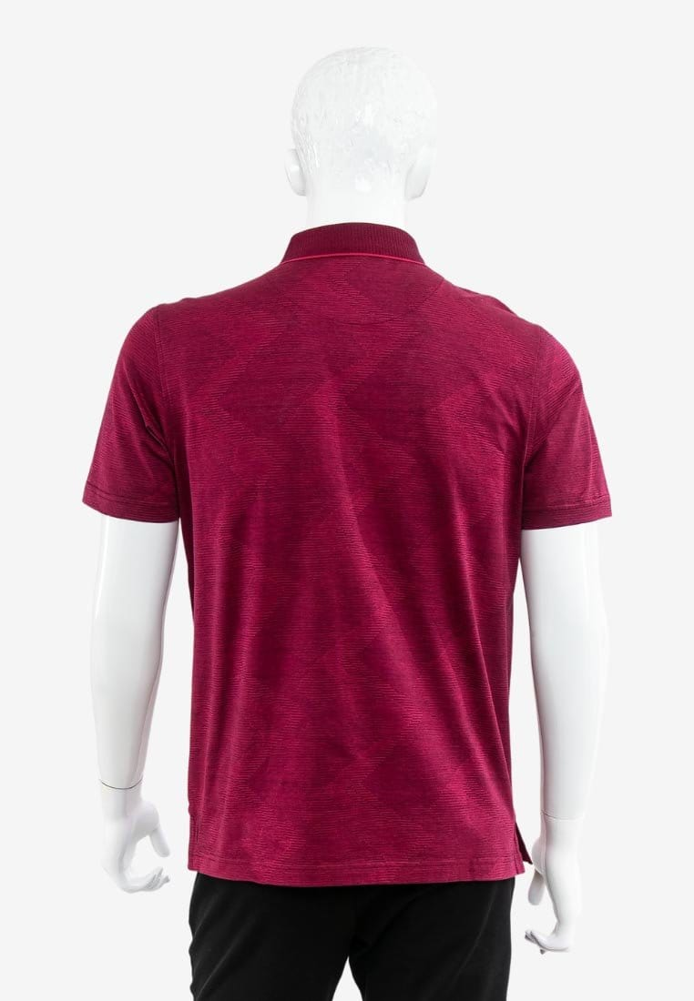 Mercerized Cotton Polo neck Tee Shirt- 16520016