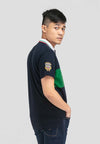 Cotton Pique Cut & Sew Slim Fit Polo Tee - 23550