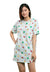 ( 1 Piece )Shinchan Ladies 100% Cotton Sleepdress - CPD0007