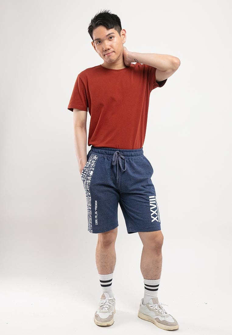 Printed Casual Short Pants - 65666
