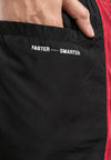 Ladies Layer Sport Shorts With Hidden Pocket - 860133