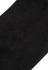 Cotton Spandex Ankle Length Cushioned Sports Socks ( 5 Pieces ) Black Colour - FSF0054T