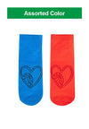 Doraemon Cotton Spandex Ankle Socks ( 2 Pairs ) Assorted Colour - DSF0016T